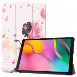 Afbeelding van 3 Vouw cover hoes Samsung Galaxy Tab A 10.1 inch (2019) Fee