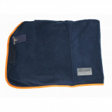 Afbeelding van Equest Deken Alpha Fleece Regular Navy/oranje 115/165