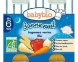 Afbeelding van Babybio Groenten Gemengd Tarwe 6 Maanden 200 gram, 2x200 gram