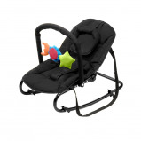Image of Babytrold Bouncing Chair w. Toys Black
