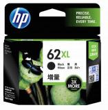 Afbeelding van Hewlett Packard HP 62XL Black originele inkt cartridge