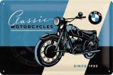 Afbeelding van BMW Classic Motorcycles Metalen Wandplaat 30x20cm Wandplaten