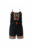 Afbeelding van FSTVL by MS Mode Dames Playsuit met borduursel