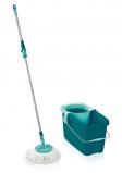 Afbeelding van Leifheit Clean Twist Disc Mop Vloerwisser Set Groen