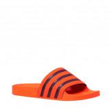 Afbeelding van adidas originals badslippers Adilette oranje/donkerblauw