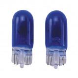 Afbeelding van AutoStyle autolamp T 10 12 Volt 5 Watt blauw 2 stuks