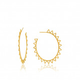 Afbeelding van Ania Haie 925 Sterling Zilveren Goudkleurige All Ears Oorbellen AH E008 03G