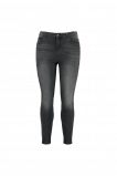 Image de FSTVL by MS Mode Mesdames Jean court coupe skinny Gris