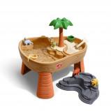 Afbeelding van Step2 zand en watertafel Dino Dig 83 cm bruin