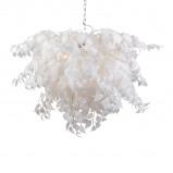 Abbildung von Art Deco Pendant Lamp White Feder