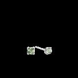 Abbildung von TI SENTO Milano Ohrring Rhodiniertem Sterlingsilber Grün Damen 7768GG