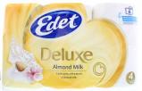 Afbeelding van Edet Toiletpapier 4 Laags Almond Milk, 6 stuks