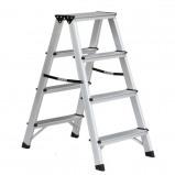 Afbeelding van Benson Dubbelzijdige aluminium trap 2x4 treden. max 150kg