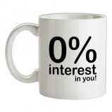 Imagine din 0% Interest In You! female t shirt.