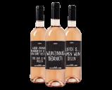 Afbeelding van #Darum Wijnpakket Rose (3 flessen)