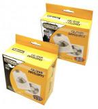 Afbeelding van Cd/dvd hoes Fellowes met klep wit hoezen