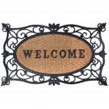Afbeelding van Esschert Design Deurmat Welcome 75x45 cm rubber RB107