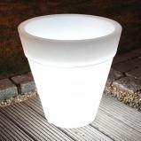 Afbeelding van 8 Seasons ronde plantenpot SHINING POT, hoogte 48 cm, polyethyleen, E27, 20 W, energie efficiëntie: A++, H: cm