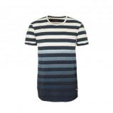 Afbeelding van edc Men gestreept T shirt blauw