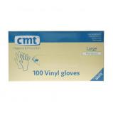 Afbeelding van CMT Handschoenen Vinyl Gepoederd Wit Small 100st