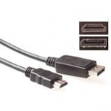 Afbeelding van 1.80m dp male hdmi a ACT