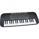 Afbeelding van Bontempi digitaal keyboard met adapter zwart 45 cm