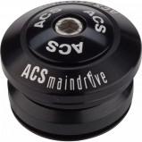 Afbeelding van ACS Balhoofdstel BMX 1 1/8 Inch Main Drive Combo Zwart