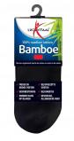 Afbeelding van Lucovitaal Bamboe sneakersok zwart 35 38 1 paar