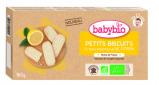 Afbeelding van Babybio Babykoekjes 12+ mnd Citroen 160 gr