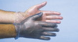 Afbeelding van CMT Handschoenen Vinyl Gepoederd Wit Large 100st