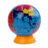 Afbeelding van Free and Easy puntenslijper wereldbol blauw 5 cm