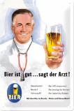 Afbeelding van Bier Ist Gut Sagt Der Artz Metalen Wandplaat 20x30cm Wandplaten