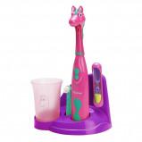Afbeelding van Bestron DSA3500P Pretty Pony Kindertandenborstelset elektrische tandenborstel (Roze/paars)