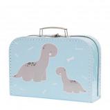 Afbeelding van A Little Lovely Company koffertje Baby Brontosaurus