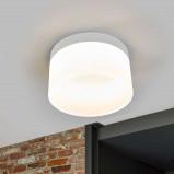 Afbeelding van Helestra helestra Liv LED plafondlamp, 20 cm, voor woon / eetkamer, metaal, acryl, 14.4 W, energie efficiëntie: A+, H: 11 cm