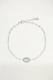 Afbeelding van Bedel armbandje maan, Minimalistische armband