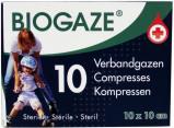 Afbeelding van Biogaze Verbandgazen 10st