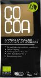 Afbeelding van Cocoa Reep amandel cappuccino moerbeien 50 gram