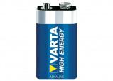 Afbeelding van Batterij Varta Longlife Power 9Volt Staaf En Blokbatterijen