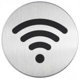 Afbeelding van DURABLE Piktogramm WiFi rond diameter 83 mm