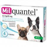 Abbildung von Wurmtabletten 2,5mg/25mg Puppy Kleiner Hund 4 Tabletten <5kg