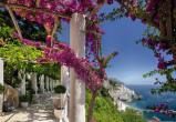 Afbeelding van Amalfi 8 delig Fotobehang 368x254cm Bloemen