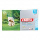 Imagem de Advantix Dewormer 100/500 Spot On Dog 4 10kg 24 Pipettes