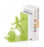 Afbeelding van Balvi boekensteun Peter Pan Groen Metaal