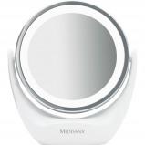 Afbeelding van Medisana 2 in 1 Cosmetische spiegel cm 835 12 wit 88554