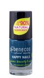 Afbeelding van Benecos Vegan Nail Polish Nordic Blue Nagellak Make up