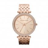Afbeelding van Michael Kors Ladies Rosegoudkleurig Tone horloge MK3192