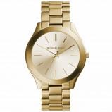 Afbeelding van Michael Kors MK3179 Runway Slim ll horloge dameshorloge Goudkleur