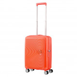 Afbeelding van American Tourister Soundbox Spinner 55 Exp. Spicey Peach Harde Koffers