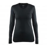 Afbeelding van Craft Active Comfort RN LS Thermoshirt Dames Black Solid M